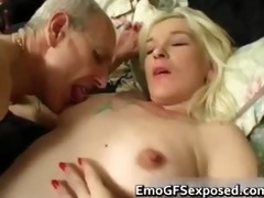 old papy fucking youthful tattooed wife part1