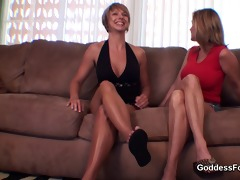 mother not her daughter foot training