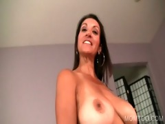 mom and daughter giving oral job