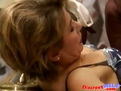 spanish man fuck older ladies and pee on em