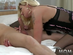 mamma golden-haired curly d like to fuck can