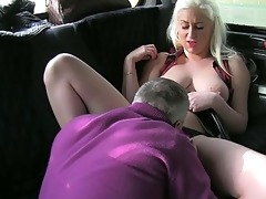 older dilettante acquires with her taxi driver