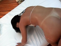 fabiana acquires her bawdy cleft pounded as she