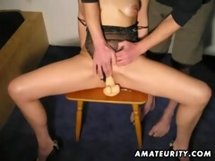 aged redhead amateur wife sucks and copulates