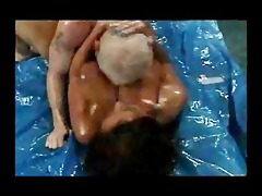 breasty ass wrestling older donita dunes