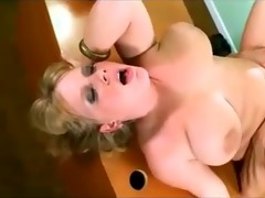 big breasted bulky golden-haired mother id like