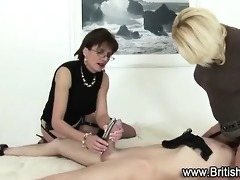 femdom women tugging