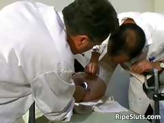 old floozy got tortured in the doctors part3