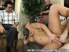 juvenile wife enjoys knob ramming