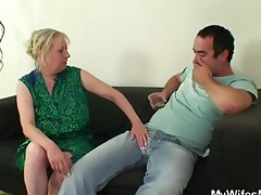 she is finds him fucking her own mother!