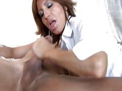 dark brown mother i with astonishing boobies