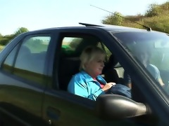 he picks up and copulates hitchhiking granny