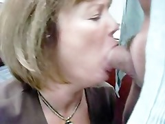 mother i momor wife is giving a bj to the boss at