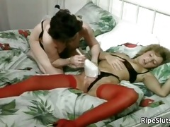 lustful older harlots take up with the tongue