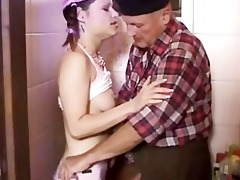 old fellow fucks his own stepdaughter