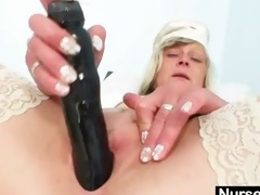 ribald nurse d like to fuck nada bonks herself