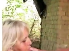 granny rectal hole turned inside out by