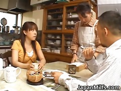 excited japanese milfs engulfing and fucking part0