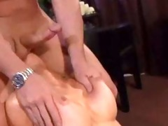 kayden kross:tight blondie rides hard shlong