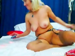 blond d like to fuck cant talk with her cookie -