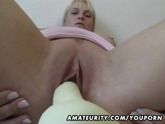 breasty dilettante mother i toys and sucks with