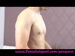 femaleagent. fresh d like to fuck agent loves it