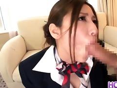 hot japanese stewardess yuna shiina in hardcore