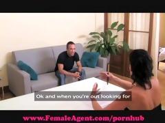 femaleagent. shy hunk acquires devoured