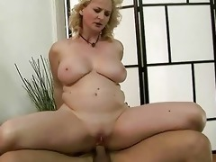 hawt grandma receives drilled anally