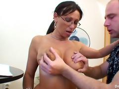 breasty aged pandora gets slammed