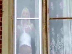 hawt golden-haired brit mother i sucks and bonks