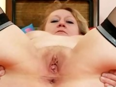 indecent old grandma vagina widening and
