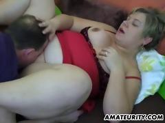 bulky non-professional mother i homemade hardcore