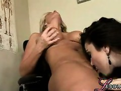 lewd lesbians at work #85