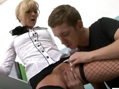 hot cougar anal seduction