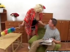 golden-haired granny can it coarse