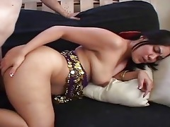 indian wife bows over and acquires hard from