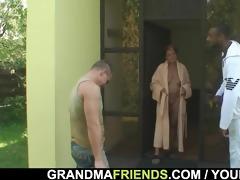 studs gangbang granny