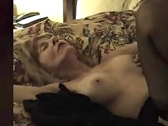 aged doxy creampied by dark dong