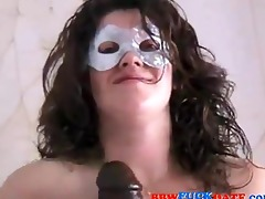 non-professional chubby housewife squirts