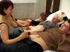 mamma amalia fuck with a 6 lads - russian