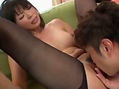 playgirl saki aoyama oriental girl giving blowjob