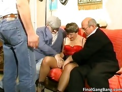 breasty big boobed old milf wench engulfing part5