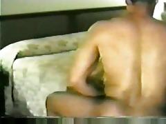 white wife takes dark rod jizz flow after vagina