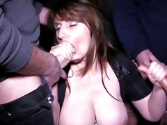 breasty brunette hair mother i receives into a