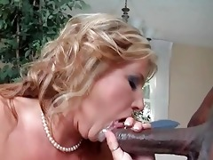 spruce blonde mother i in dark nylons team-fucked