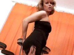 anilos koko toys her pussy and rides a pounder