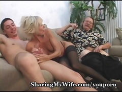 older pair in 10some sex game