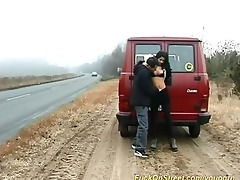 doxy sucks weenie on the road