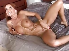 slim dark brown d like to fuck with big bra